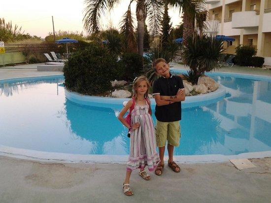 Blue Bay Beach Hotel: my children