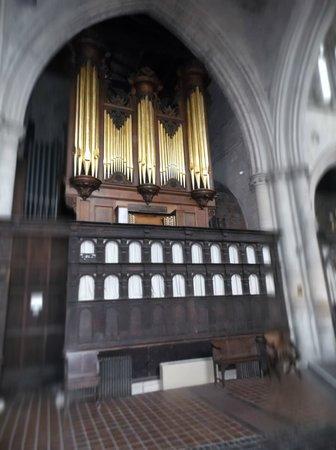Kings Lynn Minster: the organ