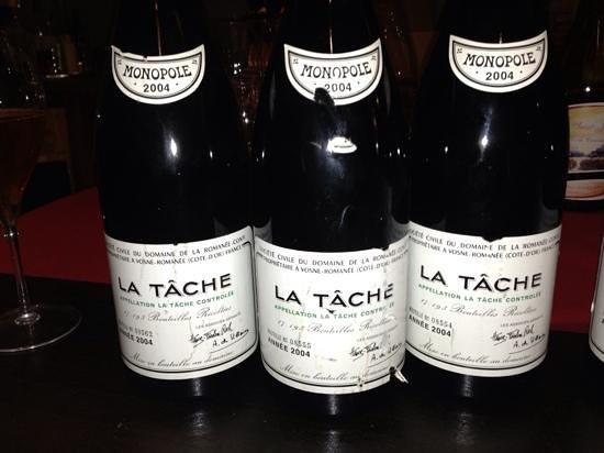 Select Wine Cellar: La Tache at Select Wine
