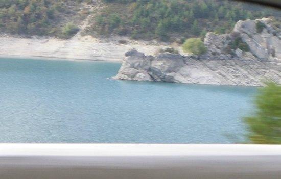 Saint Andre Les Alpes, France: Autour du lac