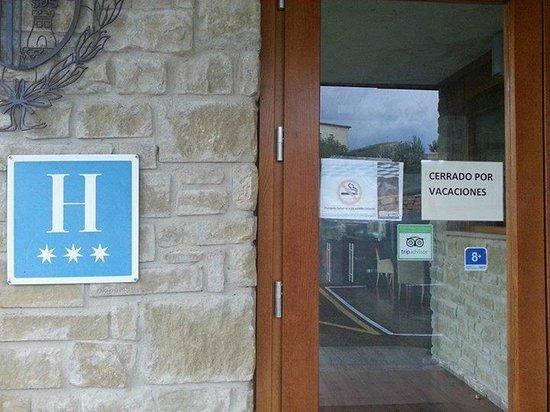 Hotel Triskel : Vista cartel