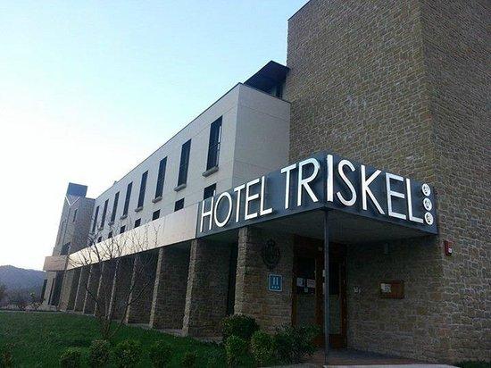Hotel Triskel : Vista Hotel