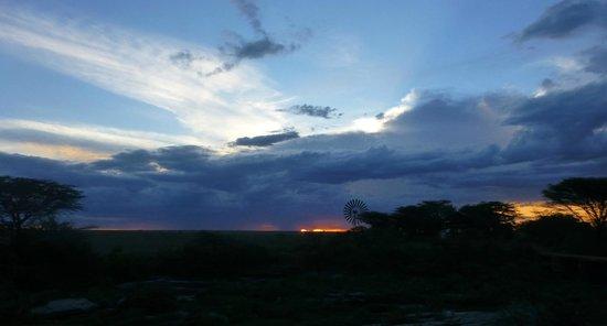 Tanke Tours : vue depuis notre camping Aruba Mara Camp