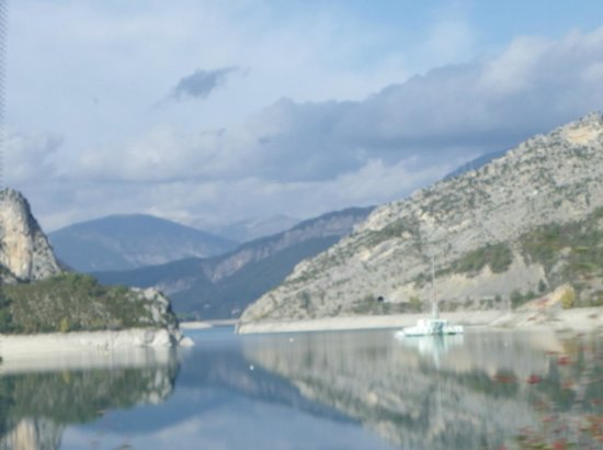 Saint Andre Les Alpes, France: Montagnes