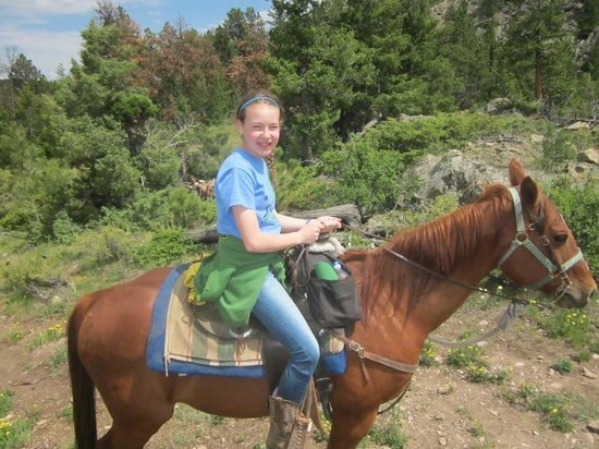 Sundance Trail Guest & Dude Ranch: On the all day ride