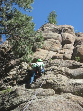 Sundance Trail Guest & Dude Ranch: Rock climbing