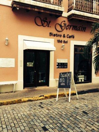 St Germain Bistro & Cafe: Fantastic lunch spot.