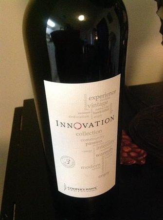 Cooper's Hawk Winery & Restaurant: this is the Annversary wine of the month