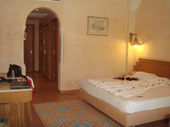 Palm Beach Palace Tozeur : la chambre