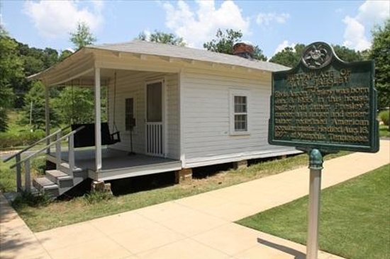 Two Room House only a two room house - picture of elvis presley birthplace