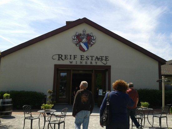 Reif Estate Winery: Entrada