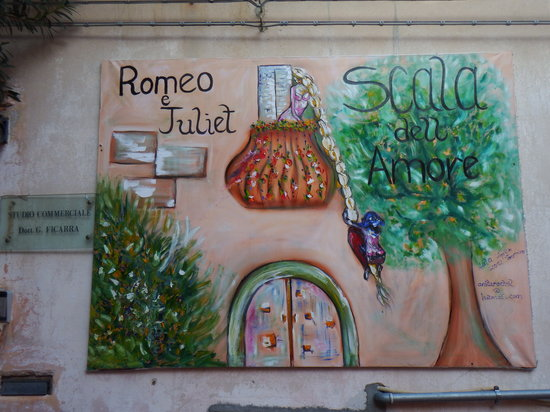 "La Scala dell'Amore: Also known as ""Romeo and Juliet"""