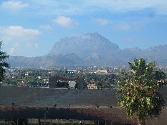 Hotel Mediterraneo Benidorm: views from our room