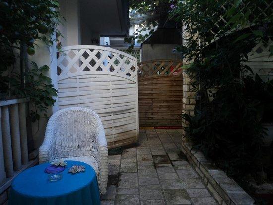 Art Villa Ines : Alrededores de la piscina