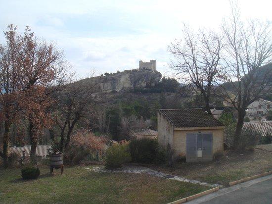 Hotel Le Logis du Chateau : jardin