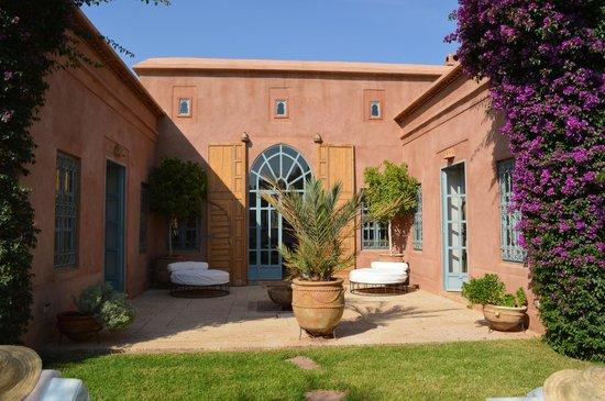 Villa d'Akhdar : Vu de la piscine