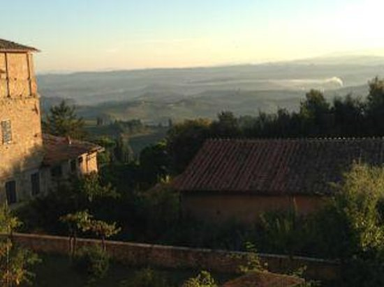 Hotel Leon Bianco: view from window