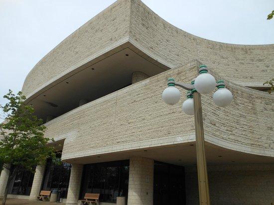 พิพิธภัณฑ์อารยธรรมแคนาดา: Entrada