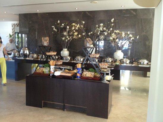 Cape Sounio, Grecotel Exclusive Resort : buffet du matin