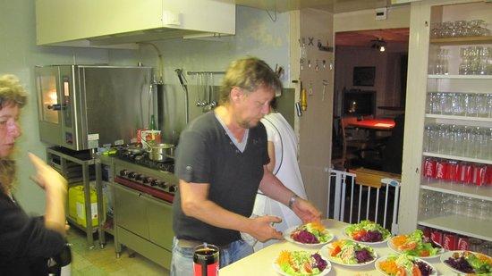 Restaurant De la ferme Robert : Le chef