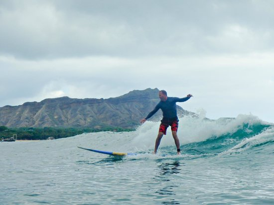 Hook up Surfing : ...even my husband learned!