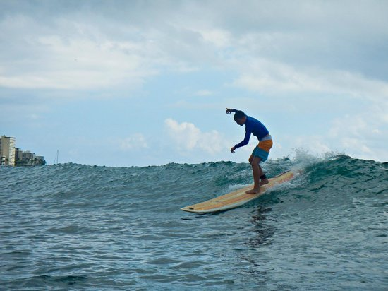 Hook up Surfing: My 11 year old son