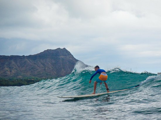 Hook up Surfing : My son....taught by the best Ivan!