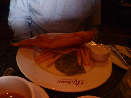 Richoux - Piccadilly : fish and chips