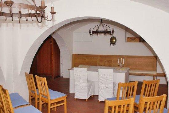 Schlosswirt Meseberg: kleiner Saal im Keller