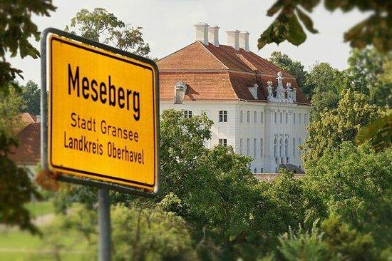 Schlosswirt Meseberg: Blick zum Schloss