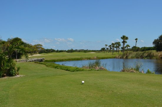 First Tee On The Lakes Course At Cocoa Beach Country Club Fl