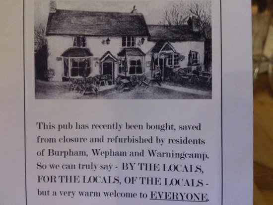 The George at Burpham: a pub by the community for the community