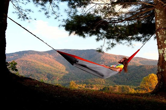 Sanders Mountain View Lodge : Relax with a view, priceless!