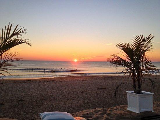 Blue - Inn on the Beach: Sunrise with surfers
