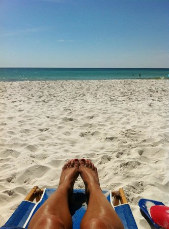 Islander Beach Resort: Immaculate beaches