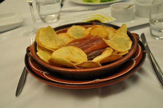 Hotel Lis Batalha Mestre Afonso Domingues: Filetto e patate (non le solite..)
