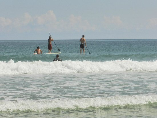 Fort Pierce Inlet State Park: paddle boarding too
