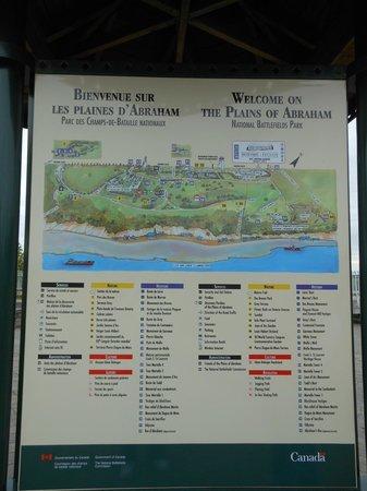 La Promenade des Gouverneurs : Mapa