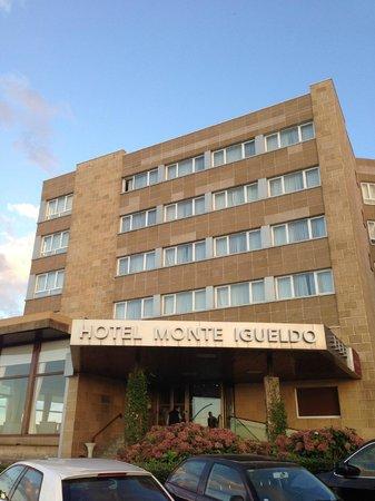 Mercure Monte Igueldo : El hotel a la entrada