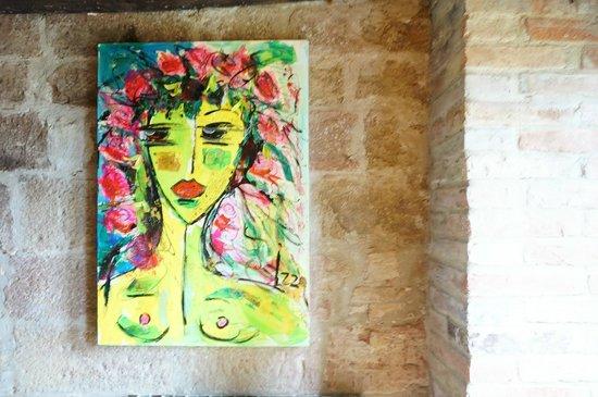 Residenza d'Arte: Anna's beautiful art