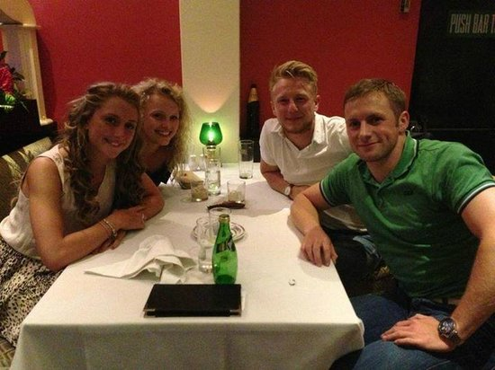 Raj Vogue Laura Trott Jason Kenny Olympic Gold Medalists