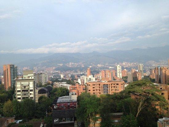 Hotel Cyan Suites: vista desde balcón