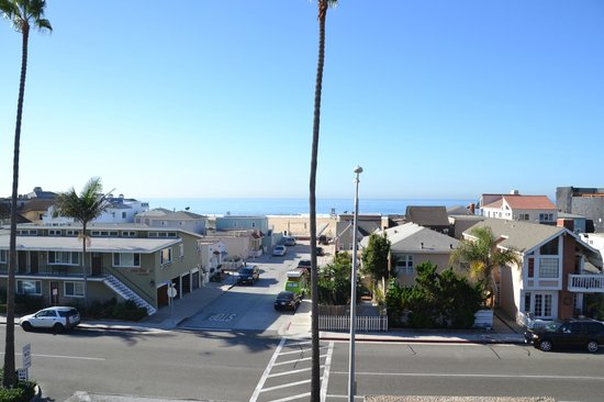 Bay Shores Peninsula Hotel: view from roof terrace to the sea