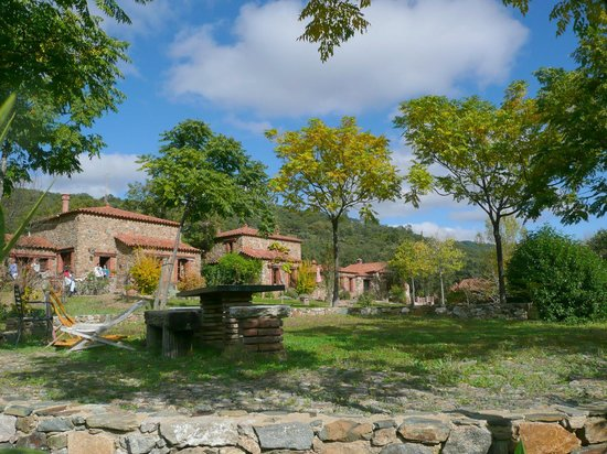 Molino Rio Alajar: casas 1