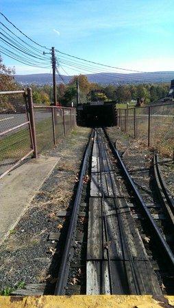 Lackawanna Coal Mine Tour: Slope#190 tunnel opening