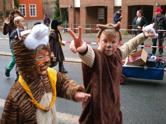 Bremer Stadtmusikanten: City parade