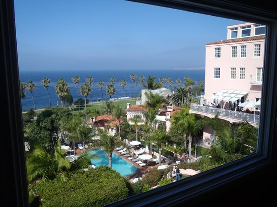 La Valencia Hotel: View from our room