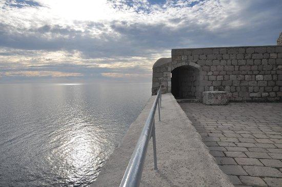 Fort Lovrijenac: View from Lovrijenac