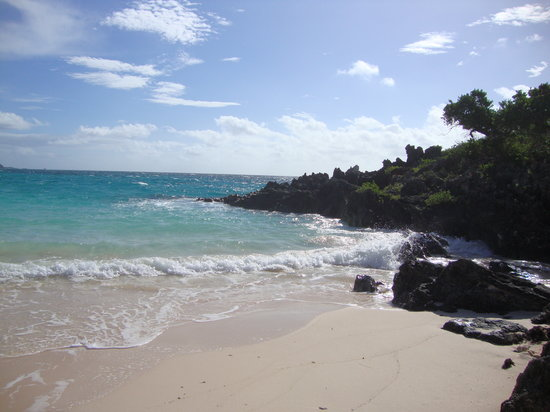 John Smith's Bay Beach: Verso l'ovest