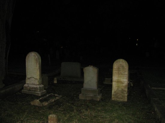 Williams Ghost Walks of Georgetown: Jewish cemetery as seen on the Ghost Walk